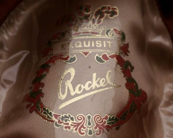 Vintage Rockel Fedora 1970s Mens Velour Hat Alpen… - image 8