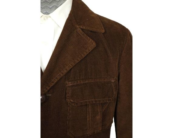 Vintage 1960s Corduroy Jacket Coat Canada Sportsw… - image 4