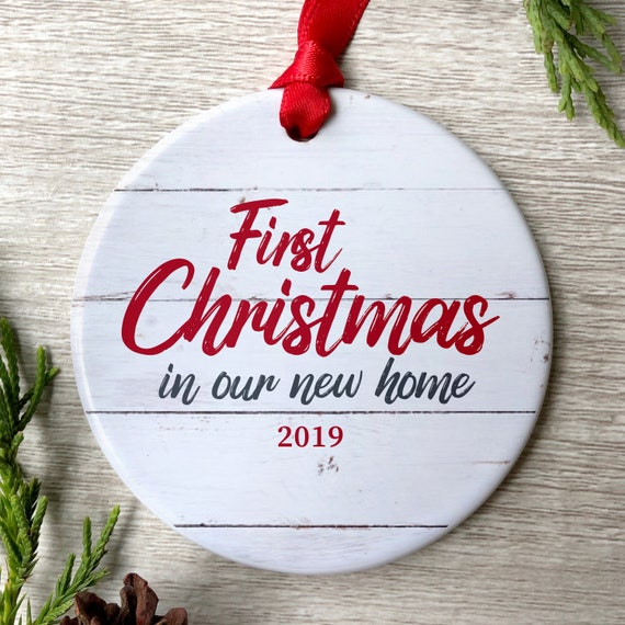 First Christmas In Our New Home 2019.First Christmas In Our New Home 2019 Christmas Ornament New Home Ornament New Homeowner Gift Housewarming Gift New Home Gift