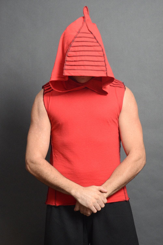 herren rmellos hoodie t shirt elf festival tanktop mit. Black Bedroom Furniture Sets. Home Design Ideas