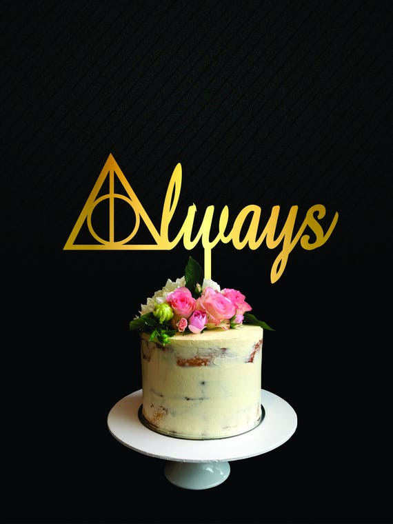 Harry Potter Kuchen Deckel Hochzeitstorte Immer Kuchen Etsy
