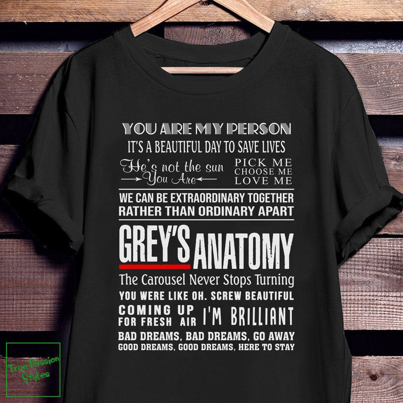 greys anatomy post it note wedding quote