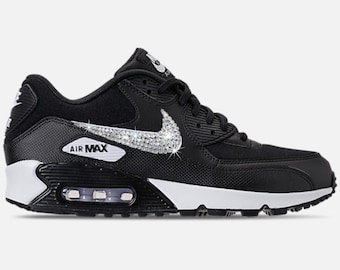 ... Stampa Brown  Nike Air Max 90 - Womens Swarovski Nike - BLING Nike -  Bedazzled Nike - Sparkly ... 1688a15496