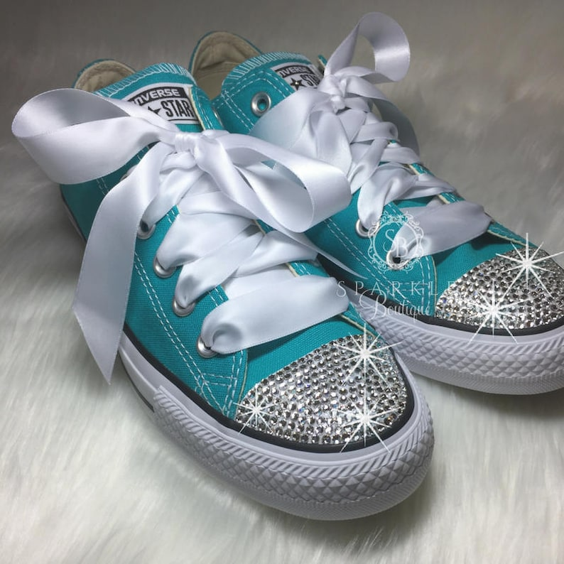 5b07f591b89a Bridesmaid Chuck Taylor Converse Wedding Shoes in ALL Colors