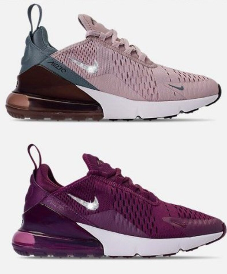 adb1484f64f4 Women s Nike 270 Sneakers with Swarovski Casual Air Max
