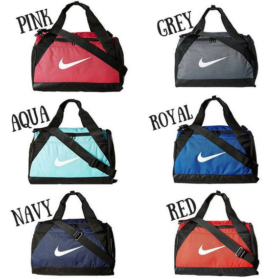 f1ea617f307 Swarovski Nike Brasilia Duffel Bag BLING Nike Duffel Bag X   Etsy