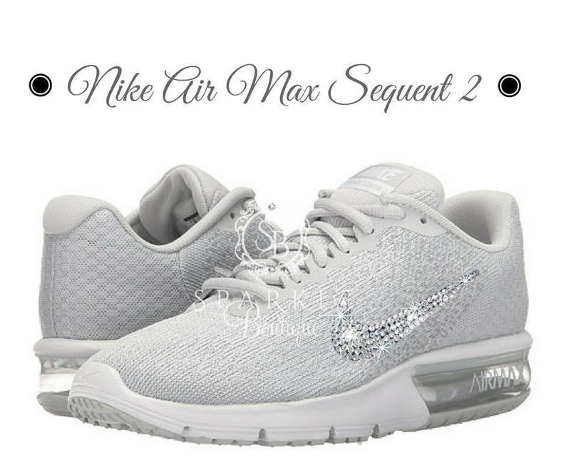 97f7b2787adde BLING Nike Air Max Sequent 2 Size 8 Ships in 1-3 days