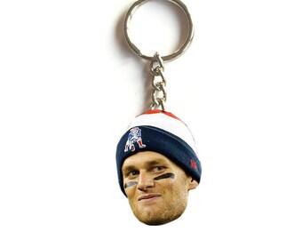 Tom Brady Keychain - New England Patriots - Go Pats!