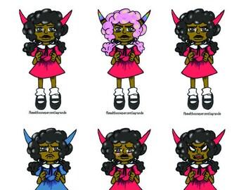Minnie Dee-Vine Sticker Set
