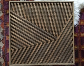 Wood Wall Art, Geometric Wood Art, Wood Art, Modern Wood Art, Rustic Wall Art, Rustic Wood Art, Geometric Wall Art