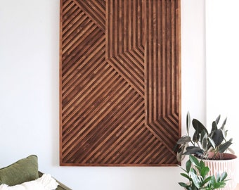 Wood Art, Wood Wall Art, Geometric Wood Art, Geometric Wall Art, Modern Wood Art, Modern Wall Art, Reclaimed Wood Art