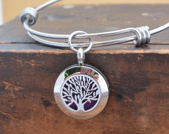 Essential Oil Diffuser Bracelet for Women - Mothers Day Gift for Women - Tree of Life Jewelry - Aromatherapy Jewelry - Aromatherapy Bracelet