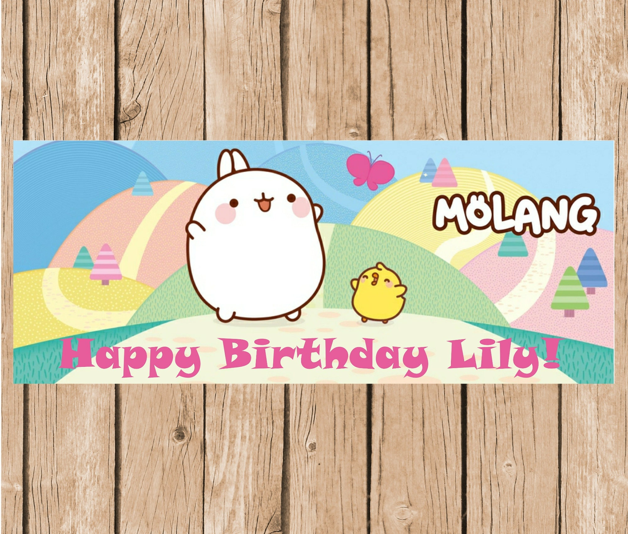 3x5 Where the Wild Things Are vinyl Birthday Banner