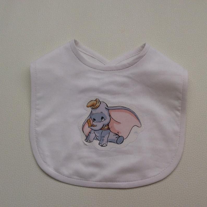 9b5faa98fd14 Disney Dumbo Bib Baby Girl Bib Baby Boy Bib Disney Baby