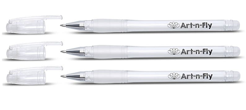 3 Fine Point White Gel Pen For Artists With Archival Ink Fine Tip Sketching Pens Drawing Illustration