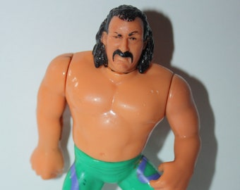 WWE Wrestling Jake The Snake Roberts Action Figure 1990 Titan Sports