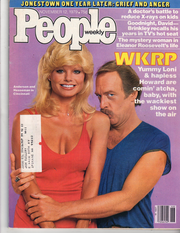 WKRP in Cincinnati Loni Anderson People Magazine November 12