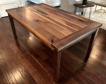 188b6a04090c3 Walnut dining table