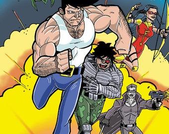 A year Association Elonan Comics, comic, superhero, comic books, drawing, french comics, comic, fanzine