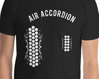 f2a67798 The Original And Authentic AIR ACCORDION T-Shirt Double Buttons