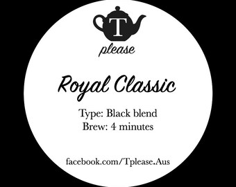Royal Classic loose leaf tea