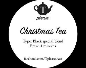 Christmas Tea loose leaf tea