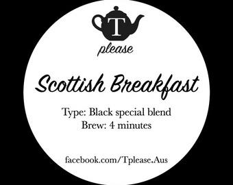 Scottish Breakfast loose leaf tea