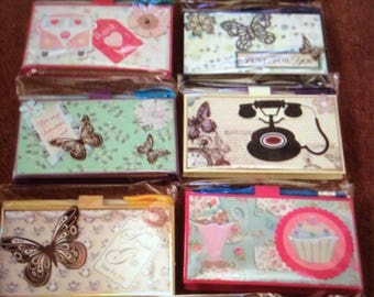Handmade notebook and pen