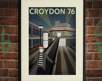 Croydon 76 A - A2 Poster Print