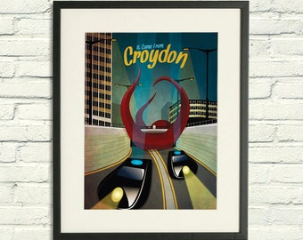 It Came From Croydon - A2 / A3 Poster Print
