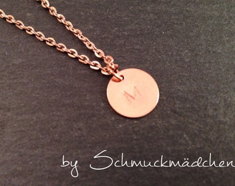 Simply chain rose gold