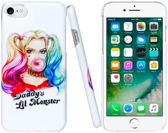 Harley Quinn from Suicide Squad ( Daddy s Lil Monster ) Case for iPhone bda225393b4
