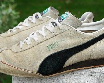 the best attitude 9e172 64a1f Vintage Puma  Keglerschuh  Sneakers Suede Bowling Shoes Men s US6.5-7 Women s  8-8.5   UK5.5-6   EU38.5-39 Teku Spezial Old School 70 s-80 s