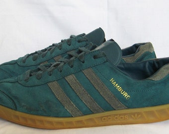 VINTAGE MENS ADIDAS Country Sneakers Sz 11 70s 80s Made In France OG