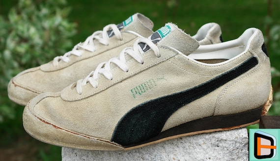 Vintage Puma 'Keglerschuh' Sneakers Suede Bowling Shoes Men's US6.5 7=Women's 8 8.5 | UK5.5 6 | EU38.5 39 Teku Spezial Old School 70's 80's