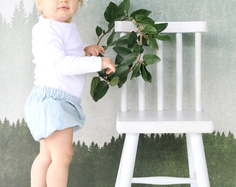 Baby Girl Bloomers in Duck Egg Blue