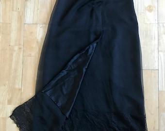 Beach bustle skirt Side slit skirt Mesh Layering Skirt Overskirt or underskirt Swimsuit coverup