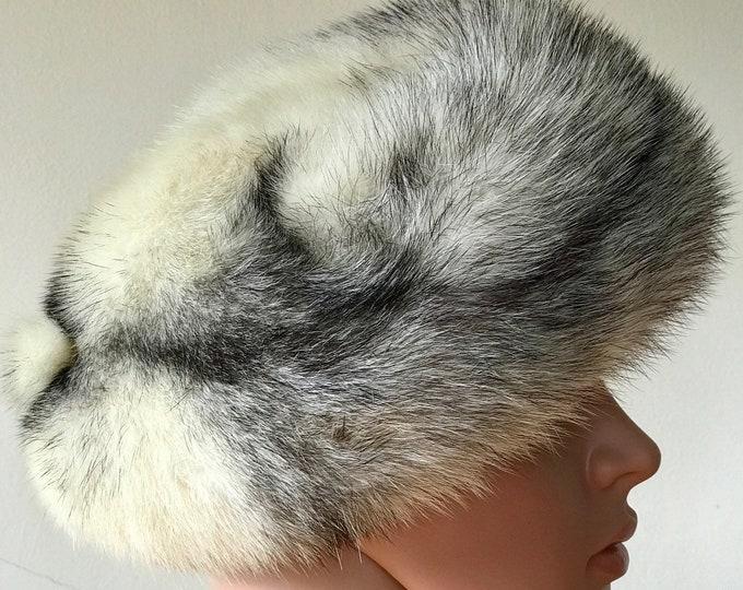Vintage 1940s Mitzi Lorenz Hat Fox Fur Stunning Unworn 40s Pinup