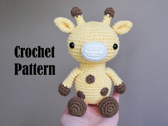 Baby Giraffe - Amigurumi Pattern - Delicious Crochet   427x570