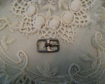 Vintage Doll BUCKLE ~ Doll Belt Shoe Hat Craft