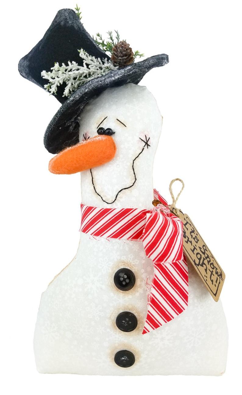 Primitive Snowman Snowman Winter Snowman Snowman Decor Primitive Decor Wreath Attachment Holiday Decor Christmas Decor