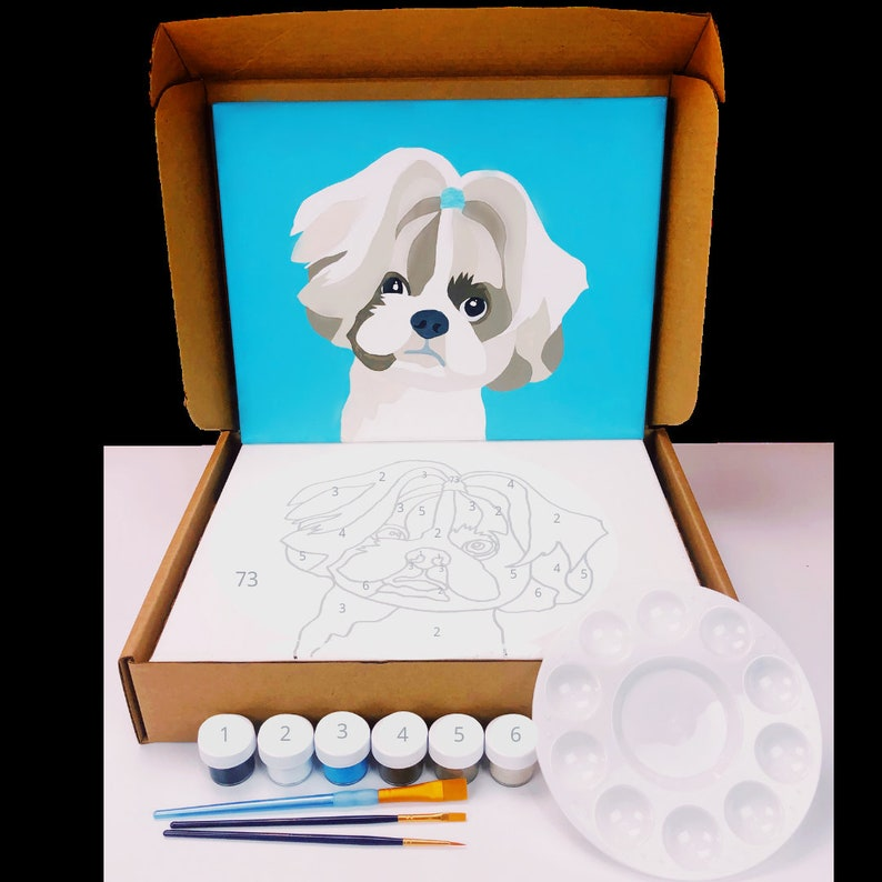Paint Your Pet By Number  Kit image 0