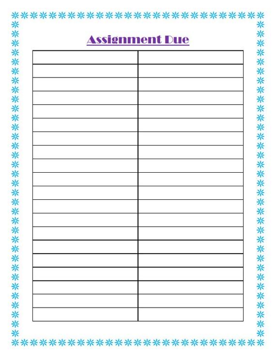 picture regarding School Planner Printable known as Higher education Planner Printables