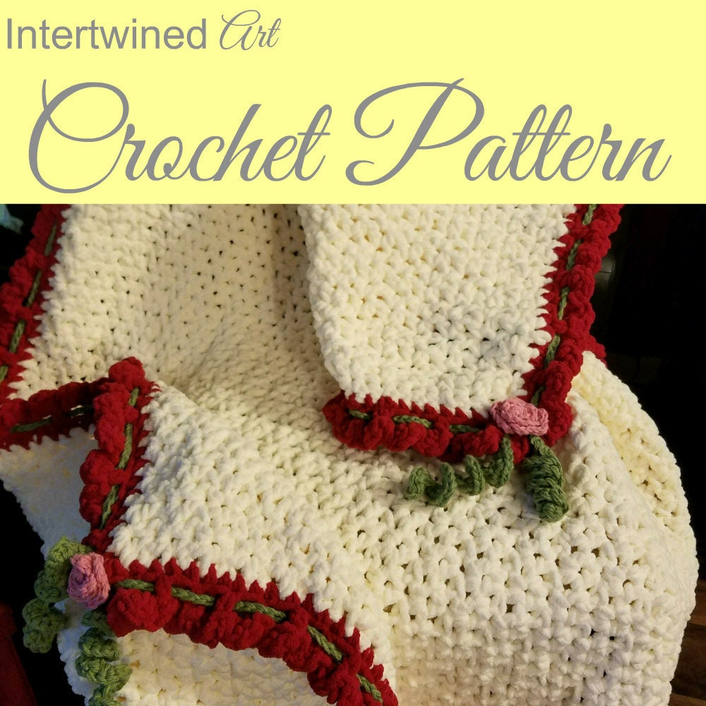 Crochet Wedding Gifts Patterns: Crochet PATTERN Perfect Crochet Wedding Blanket PATTERN