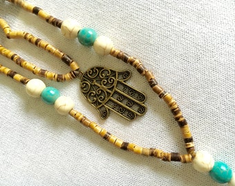 Tassel Hamas Necklace