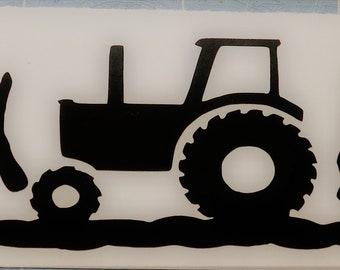 FARM LIFE Barn Horse Cattle Car Truck Tractor Decal Sticker