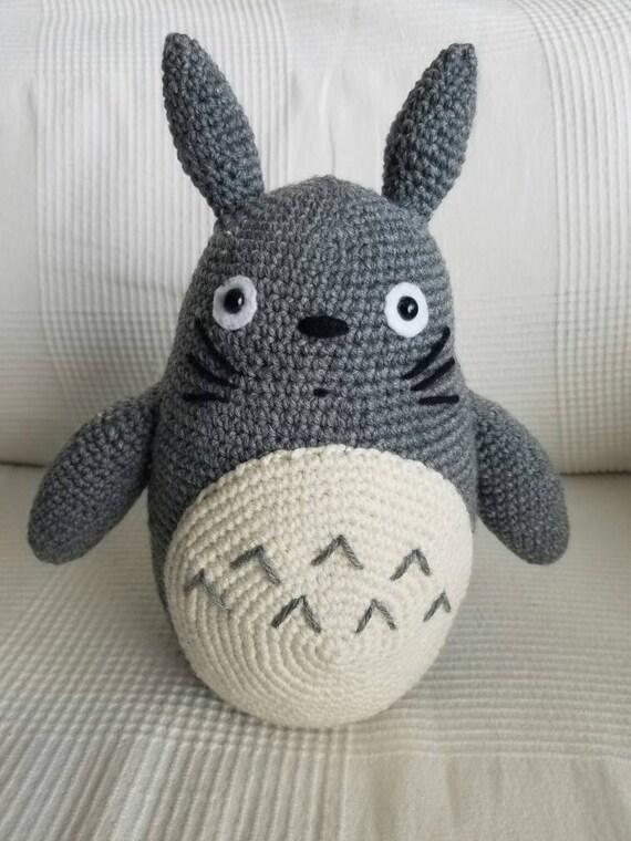 LARGE Totoro Plushie Amigurumi Crochet  d88d69b88