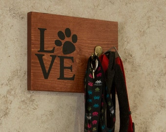 Dog Leash Holder Double Hook, Leash Holder, Coat Hook