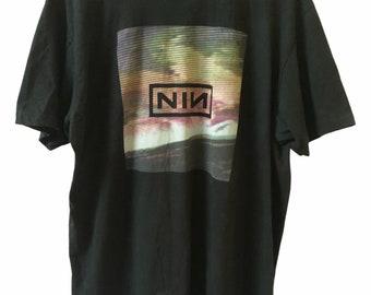Vintage Nine inch nails shirt Closure 1997 Halo Twelve NIN box logo Size XL Single stitch Made In USA