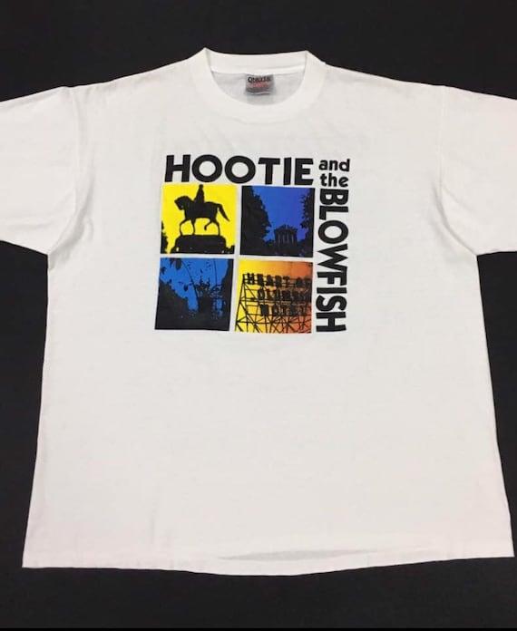 Vintage 90s Hootie And The Blowfish Winter 9495 Promo Tour T Shirt XL Size